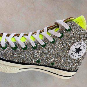 Converse x JW Anderson Glitter Chuck 70 High Top Sneaker